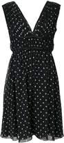 Giambattista Valli sleeveless polka dot dress
