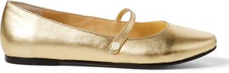 Ralph Lauren Alyssa Leather Mary Jane Flat