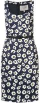 Carolina Herrera floral fitted dress - women - Cotton/Polyester/Spandex/Elastane/Acetate - 8