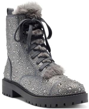 Jessica Simpson Kalirah Women's Cold Weather Lug Sole Winter Boots Women's Shoes