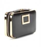 Roger Vivier Mini Zip leather clutch