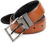 Black Brown 1826 Reversible Faux Leather Belt