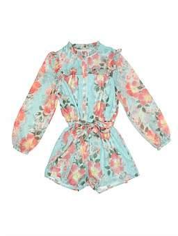 Review Floral Jumpsuit