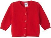 Petit Bateau Baby girls knitted cardigan