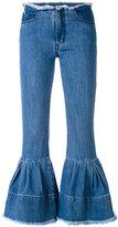 Marques Almeida Marques'almeida - denim 'Puff' jeans - women - Cotton - 8