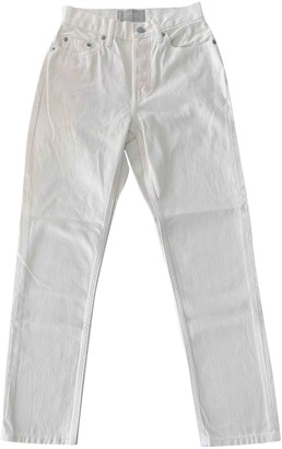 Everlane White Cotton Jeans for Women