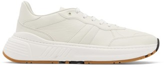 Bottega Veneta Speedster Leather Trainers - White