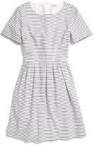 Madewell Café Stripe Dress
