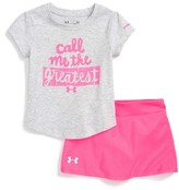 Under Armour Infant Boy's Call Me The Greatest Tee & Skirt Set