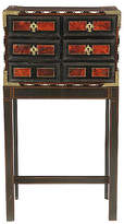 One Kings Lane Vintage Antique Tortoise Shell-Inlaid Cabinet