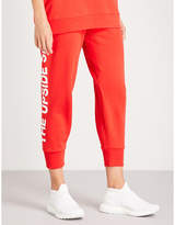 The Upside Deontay cropped cotton-jersey jogging bottoms