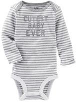 Osh Kosh Cutest Baby Ever Bodysuit