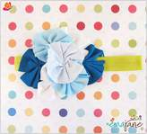 Ema Jane Shabby Chic Girl Flower Headbands - Fits Baby, Toddler, Child
