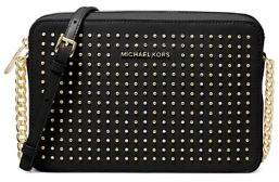 MICHAEL Michael Kors Jet Set Studded Leather Crossbody Bag