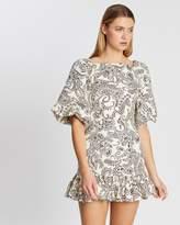 Shona Joy Zella Backless Mini Dress