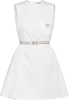 Prada Nylon Gabardine Dress