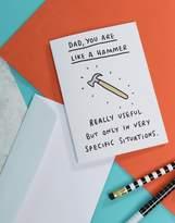 Veronica Dearly Hammer Dad Card