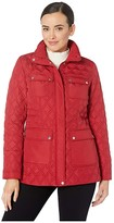 Vince Camuto 28 Quilted Jacket (Carmine Red) Women's Coat
