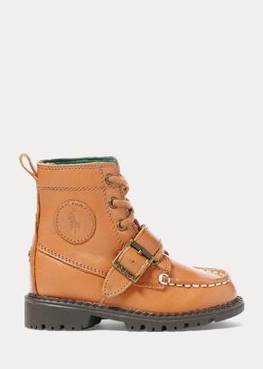 Ralph Lauren Leather Ranger Hi II Boot