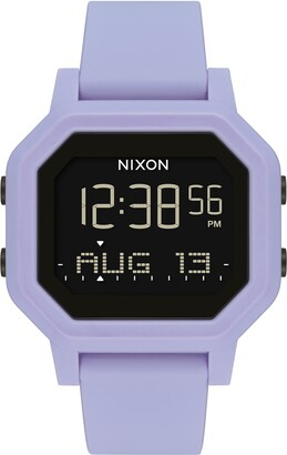 Nixon Siren Silicone Strap Digital Watch, 38mm