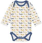 Sense Organics Baby Boys' Yvon Retro Langarmbody Bodysuit