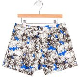 Milly Minis Girls' Floral Print Mini Shorts w/ Tags