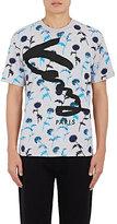 Kenzo Men's Dandelion-Print Jersey T-Shirt-GREY