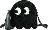 Anya Hindmarch Crossbody Ghost in Black Shearling