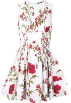 Alexander McQueen poppyfield mini dress
