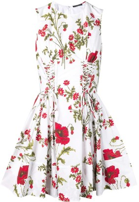 Alexander McQueen Poppyfield Mini Dress