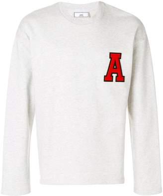 Ami Paris A Patch Sweatshirt