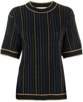 Gucci Stripe Knitted Top