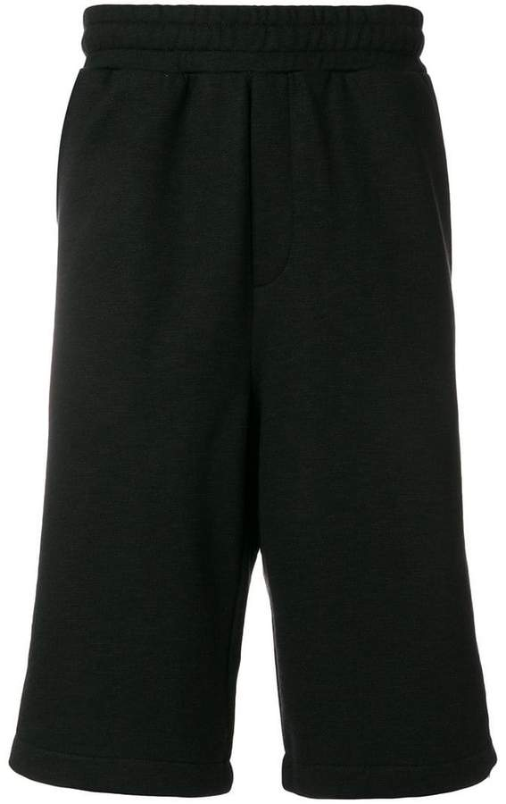 McQ side zipped track shorts