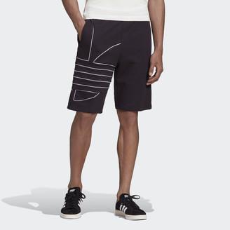 adidas Big Trefoil Sweat Shorts