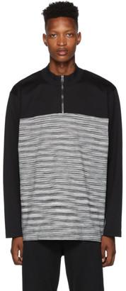 Missoni Black and White Zip Sweater