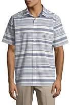 Tommy Bahama Raya Striped Camp Linen Button-Down Shirt