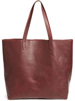 Madewell 'The Transport' Leather Tote - Red