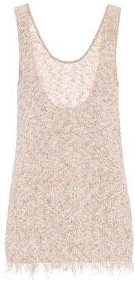 Alanui Exclusive to Mytheresa a Cotton-blend knit tank top
