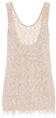 Alanui Exclusive to Mytheresa a Cotton-blend tank top