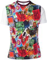 Vivienne Westwood Man 'signs' print T-shirt