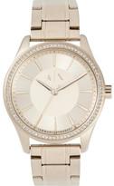 Armani Exchange Nicolette Gold-Tone Watch