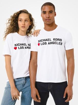 MICHAEL Michael Kors MK Loves Los Angeles Cotton Jersey Unisex T-Shirt