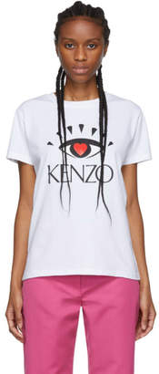 Kenzo White Limited Edition Cupid T-Shirt