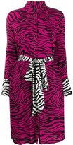 Class Roberto Cavalli tiger print shirt dress