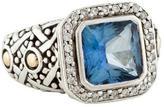 John Hardy Topaz & Diamond Ring