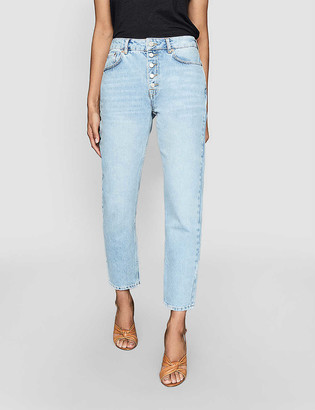 Reiss Lakely straight mid-rise jeans