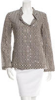 Tory Burch Sequin Embellished Printed Tunic