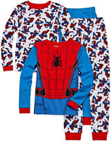 Spiderman 4 Pc Pajama Big Kid