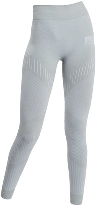 Ahmworld Flow Seamless Leggings In Gray