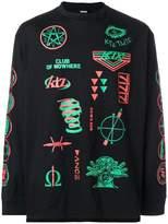 Kokon To Zai scout patch print T-shirt